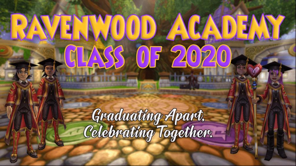 Graduating apart, celebrating together.
