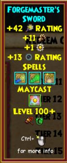 Sword Level 100