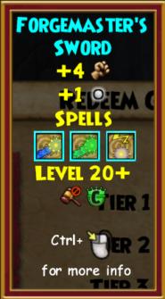 Sword Level 20