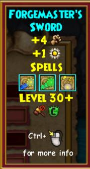 Sword Level 30