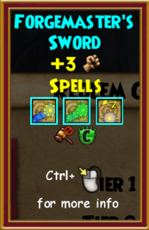 Sword level 0